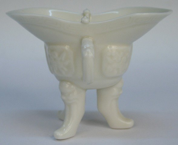 Chinese Blanc de Chine Jue Cup 19th/20th C.