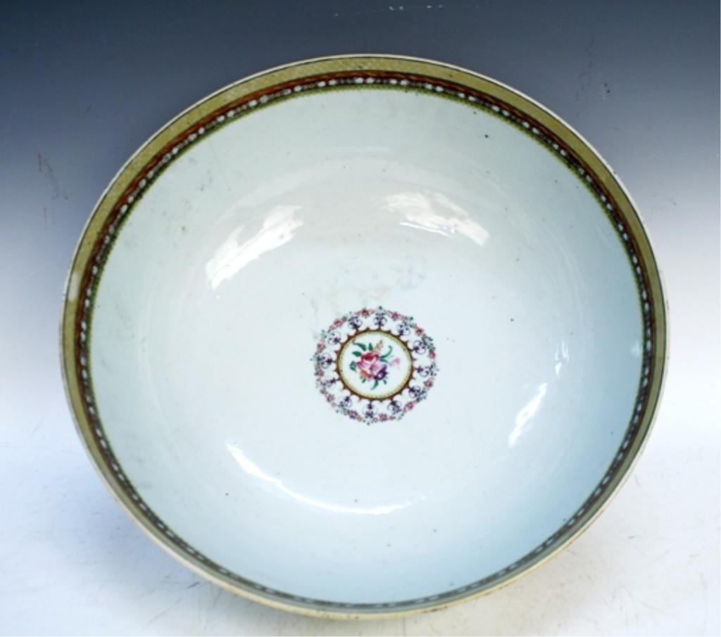 Chinese Porcelain Medallion Bowl Mid-19th C.