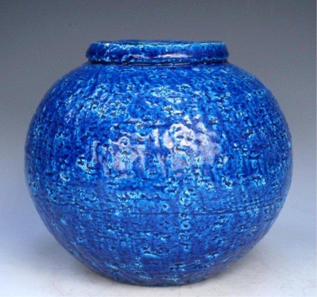 Swedish Rorstrand Pottery Vase by Gunnar Nylund