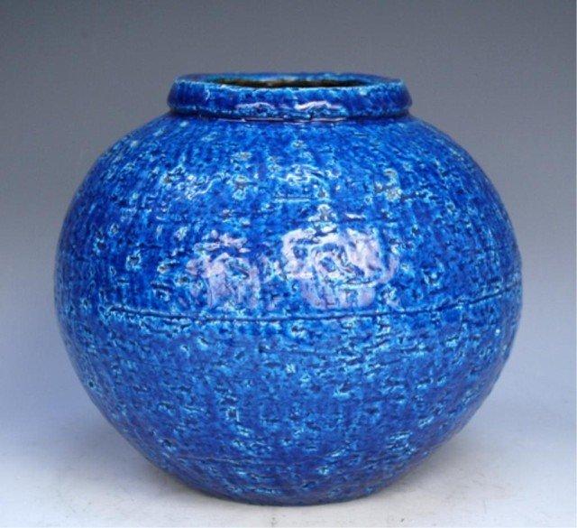 Swedish Rorstrand Pottery Vase by Gunnar Nylund - 3