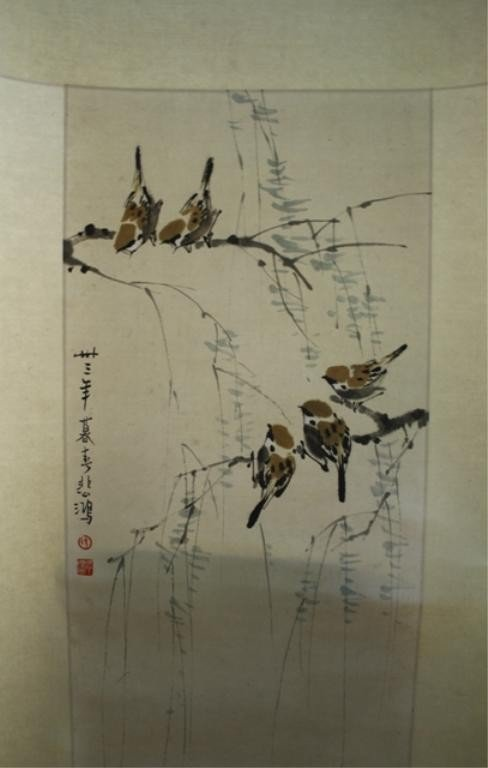 Chinese Scroll Painting attr Xu Beihong