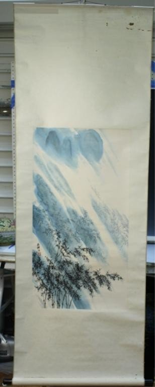 5: Chinese Scroll Painting attr. Xiao Yan Gen 20th C.