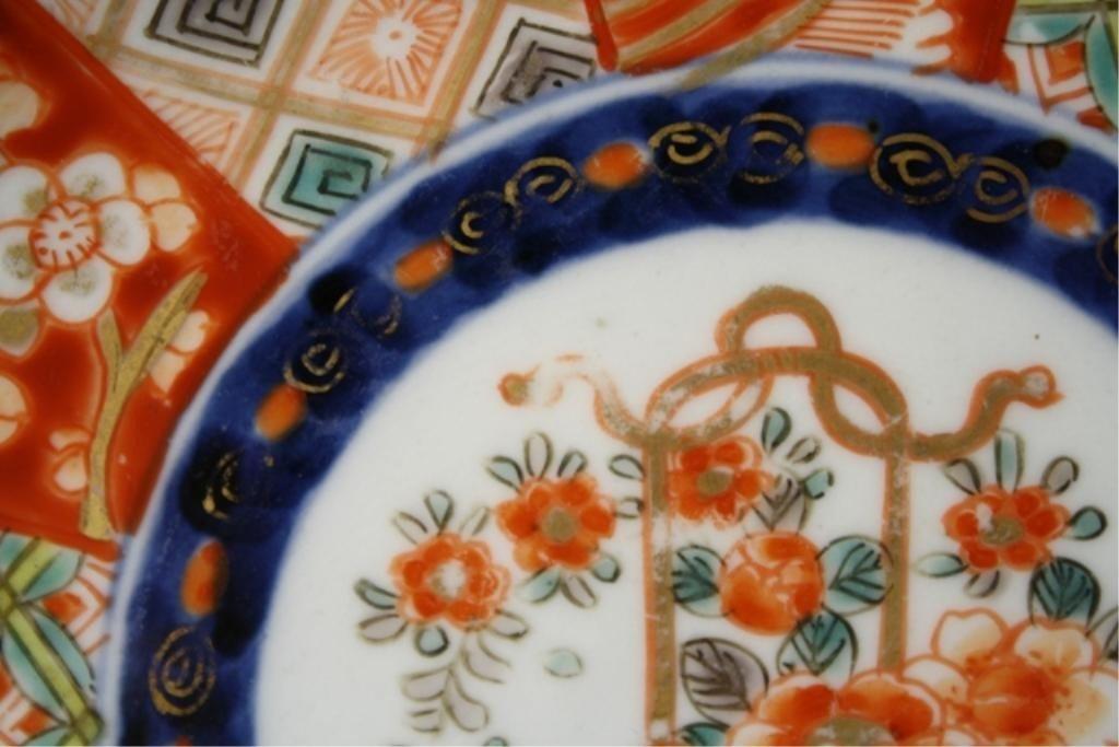 40: Japanese Imari Porcelain Plate - 10