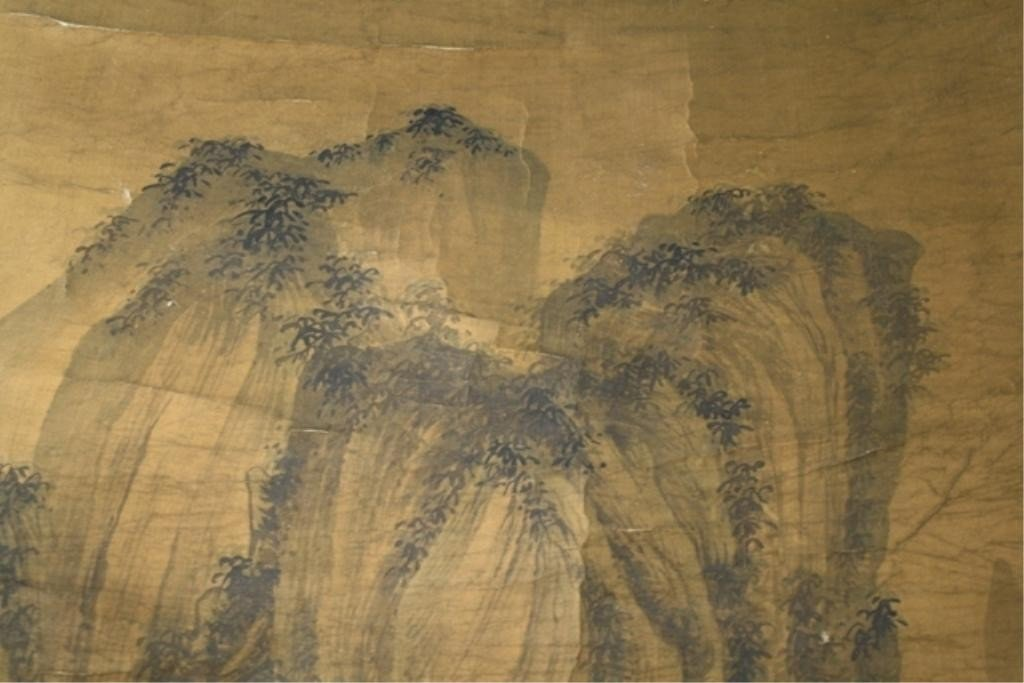 564: Chinese Painting of Landscape attr. Tong Bak Fu - 6