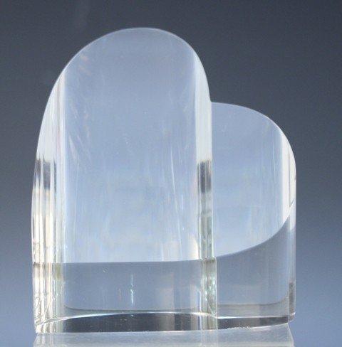 270: Steuben Glass Heart Paperweight