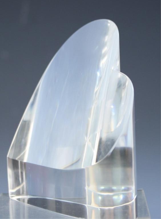 270: Steuben Glass Heart Paperweight - 2