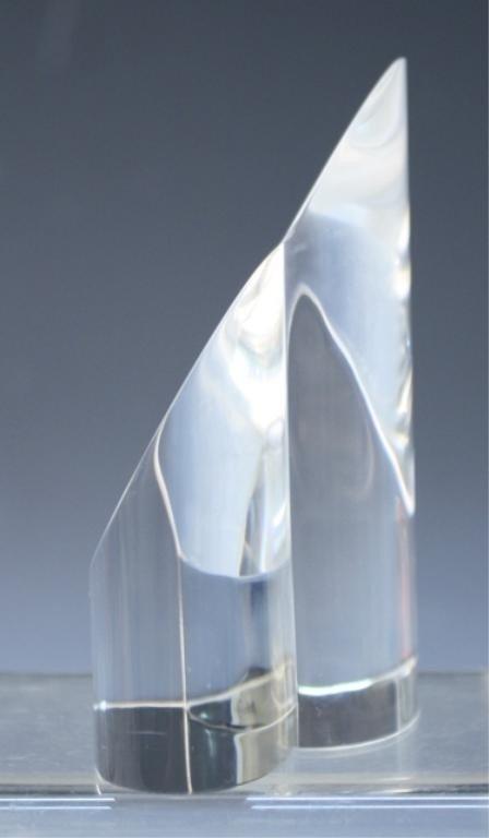 270: Steuben Glass Heart Paperweight - 3