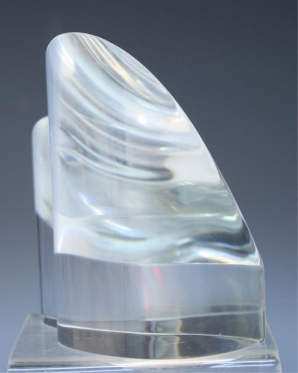 270: Steuben Glass Heart Paperweight - 5