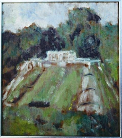 122: Small Painting of Landscape