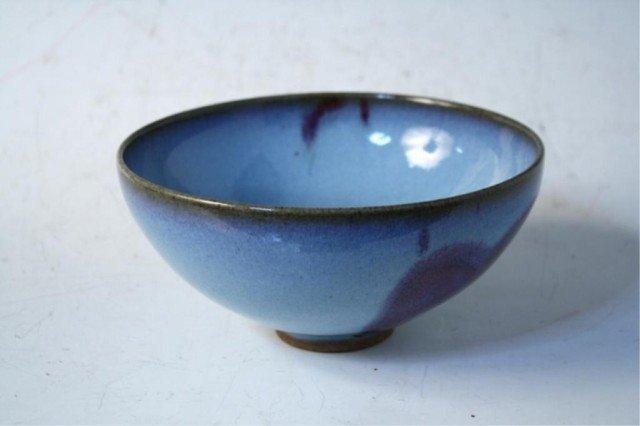 19: Chinese Junyao Bowl Yuan Dynasty