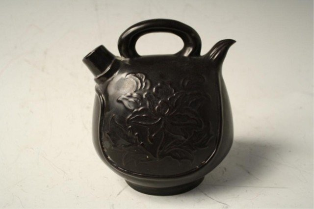 30: Chinese Black Ding Ware Pot Northern Song Dynasty