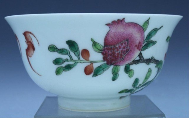33: Chinese Famille Rose Porcelain Bowl 20th Century