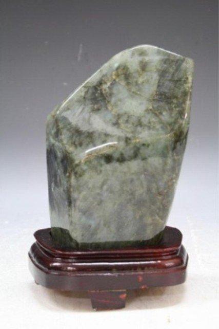 115: Chinese Labradorite Mountain Carving