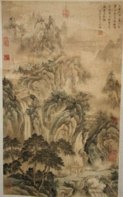 120: Chinese Scroll Painting attr. Wang See-Min
