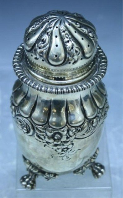 178: Theodore B. Starr Sterling Silver Salt Shaker - 9