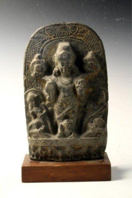 310: Indian Stone Stele Gandhara Period 10th-12th C