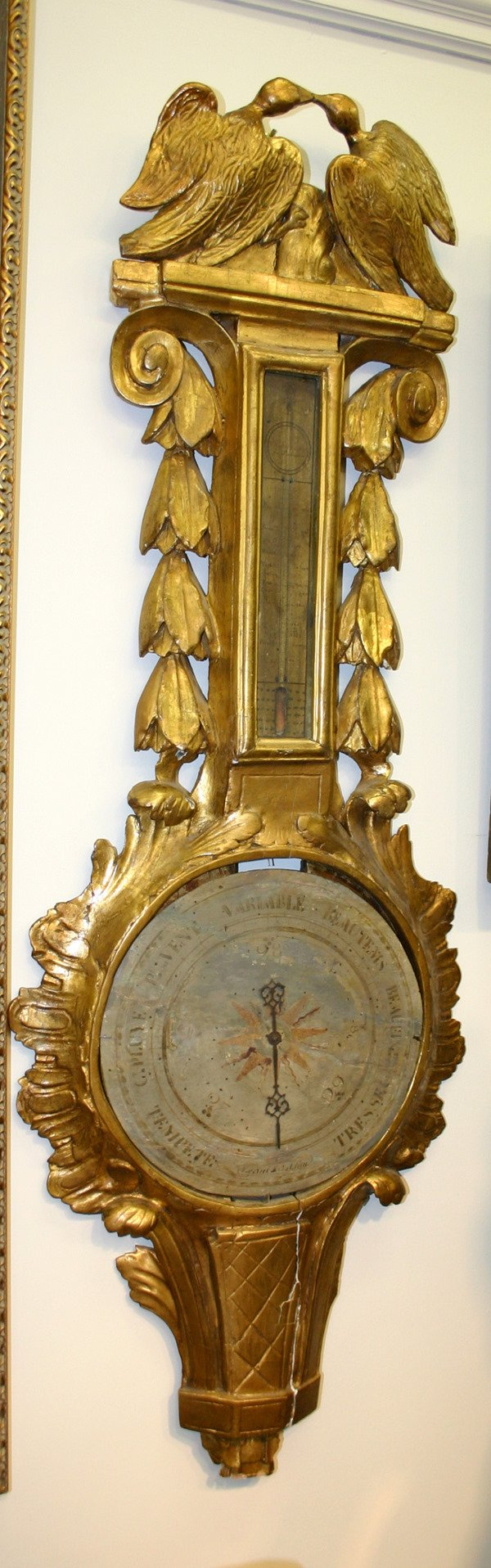 9: EARLY 18TH C. FRENCH BAROMETER
