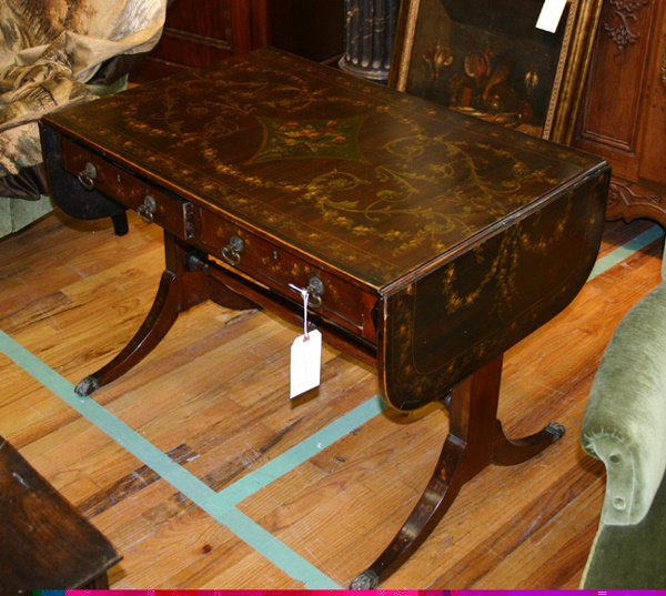 17: ENGLISH 18TH Century DROP LEAF SOFA TABLE