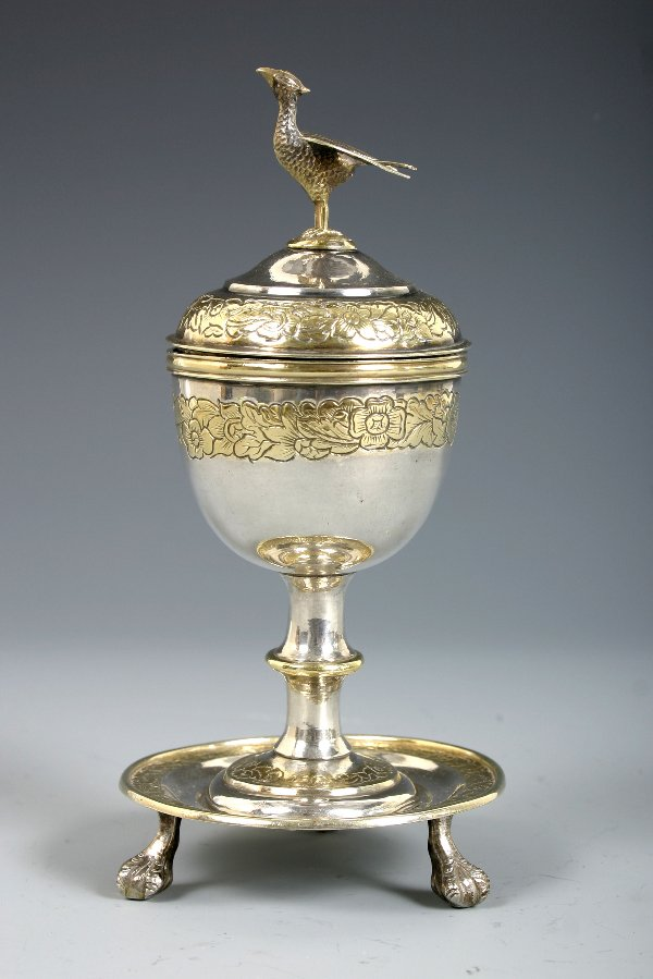 507: C.1820-30 CHINESE SILVER CUP