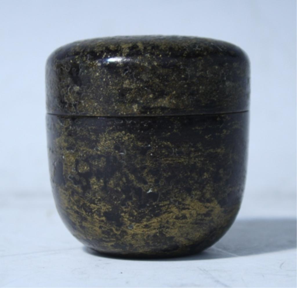 10: Japanese Natsume Tea Caddy Edo Period
