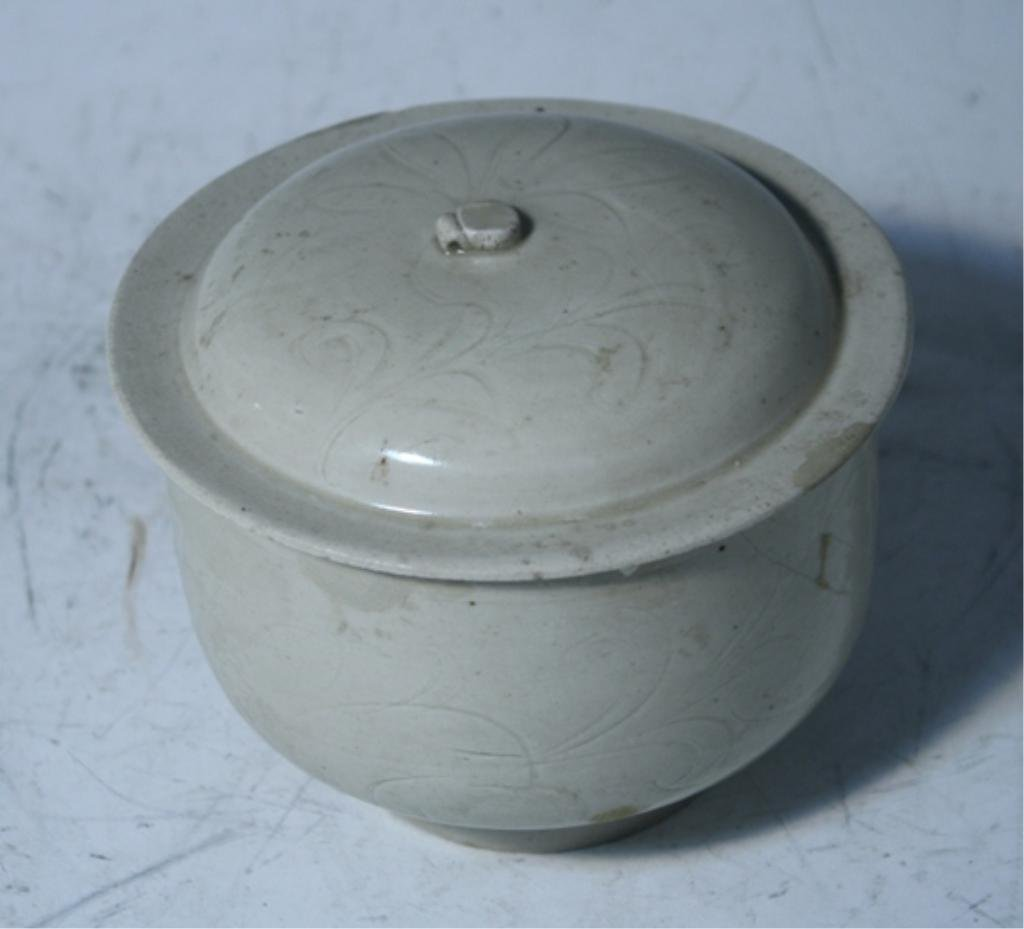11: Chinese Ding Yao Covered Bowl Song Dynasty