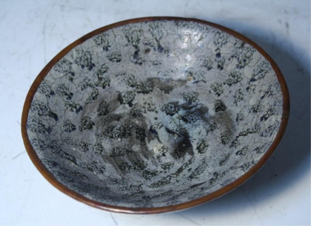 17: Chinese Blackspot Bowl Tang Dynasty