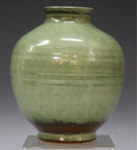 1: Edwin & Mary Scheier Studio Pottery Vase c.1955