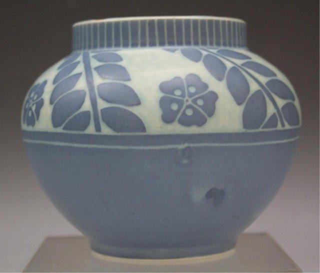 3: Gustafsberg Ceramic Vase Signed Josef Ekberg 1919