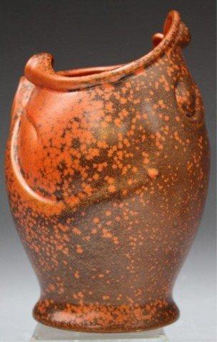 6: Dutch Gouda Ceramic Art Deco Vase c.1930