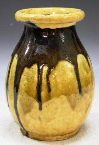 7: French Aegitna Vallauris Pottery Vase