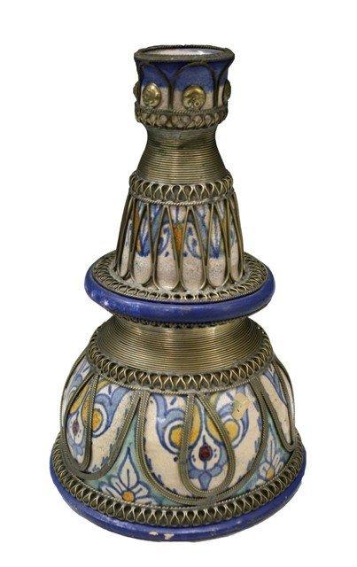 3: Persian Ceramic Candle Holder