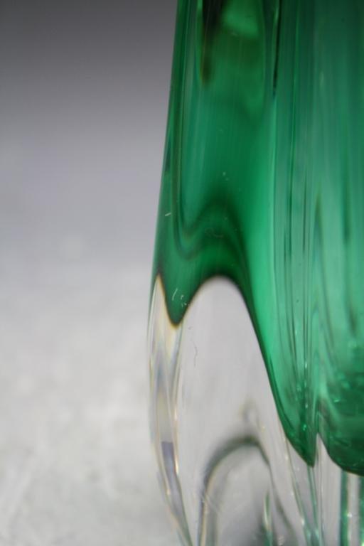 58: Swedish Elis Bergh for Kosta Glass Vase 1940s - 10