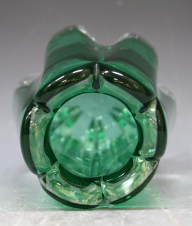 58: Swedish Elis Bergh for Kosta Glass Vase 1940s - 5