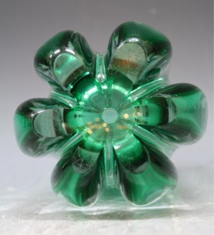 58: Swedish Elis Bergh for Kosta Glass Vase 1940s - 6