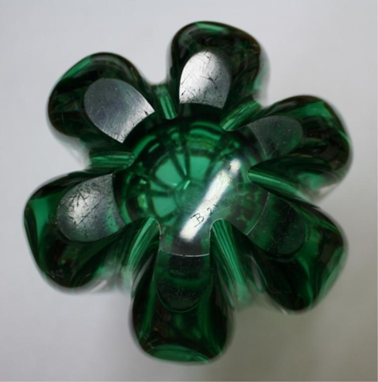 58: Swedish Elis Bergh for Kosta Glass Vase 1940s - 7