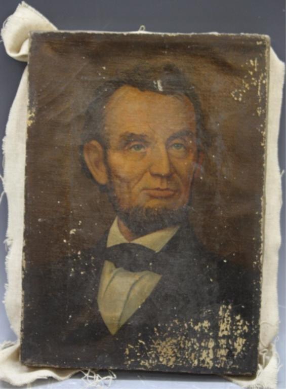 124: Portrait of Abraham Lincoln c. 1913