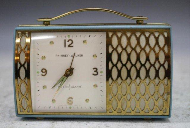 2: 1950s Wind-up Phinney-Walker Alarm Clock