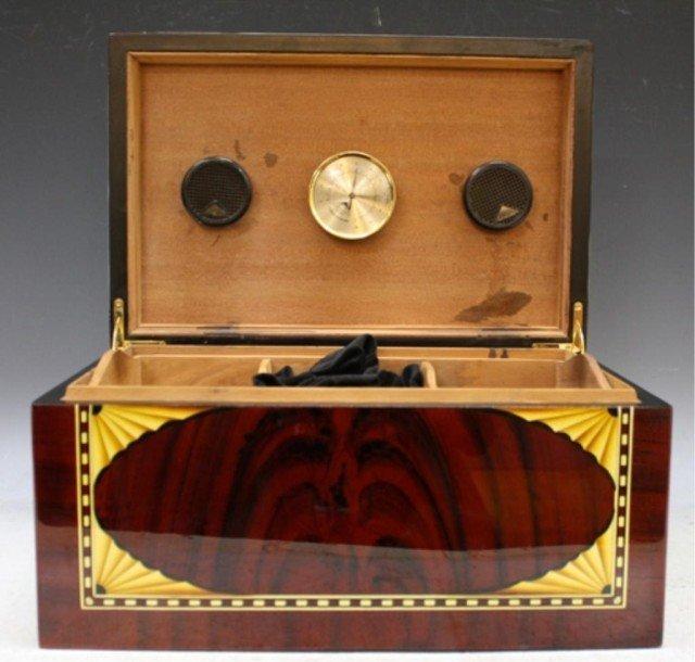 2: Vintage Credo Cedar Wood Cigar Humidor