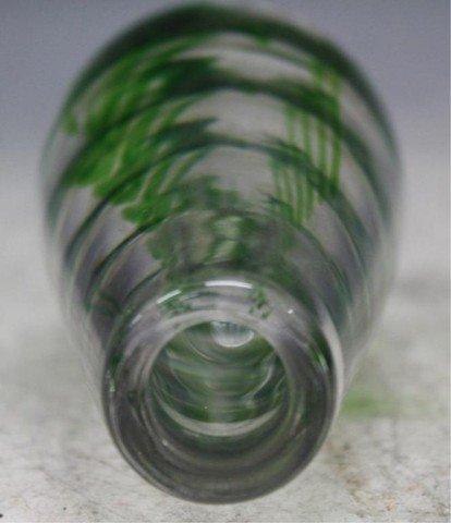 13: Swedish Kosta Vicke Lindstrand Art Glass Vase - 8