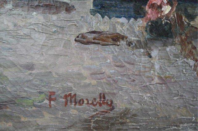 """409: Federico Morello Painting """"Spiaggia di Noli"""" - 2"""