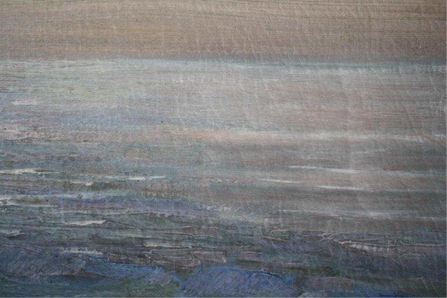 """409: Federico Morello Painting """"Spiaggia di Noli"""" - 5"""
