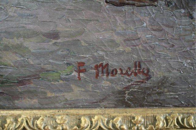 """409: Federico Morello Painting """"Spiaggia di Noli"""" - 6"""