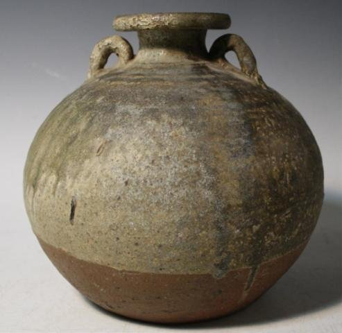 3: Iranian Pottery Handled Jar