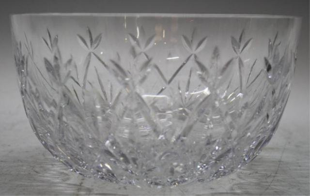 12: Tiffany & Co. Cut Crystal Bowl