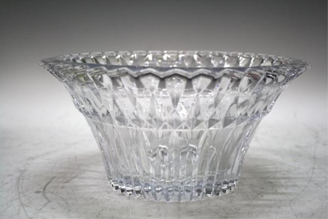 14: Cut Clear Crystal Bowl