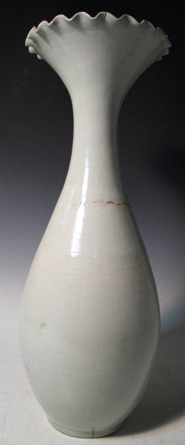 209: Large Chinese Qingbai Ceramic Vase Ming Dyn.