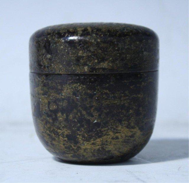 601: Japanese Natsume Tea Caddy Edo Period