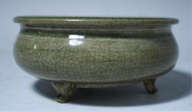 618: Chinese Celadon Censer Song Dynasty