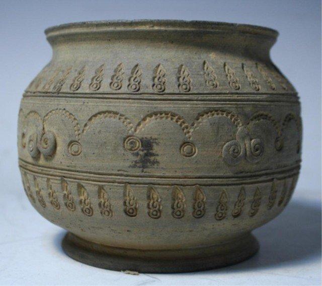 619: Korean Stone Ware Pot Silla Dynasty