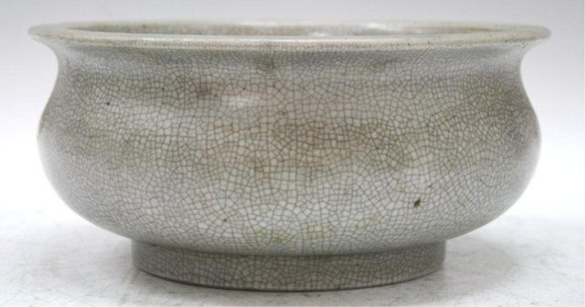 Chinese Guan Ware Incense Burner 19th Cent